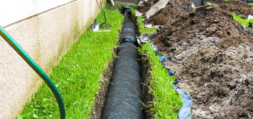 drainage system reading